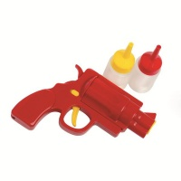 eddingtons ranch ketchup and mustard shooter