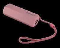 Whizzy 2600 mAh Powerbank Pink