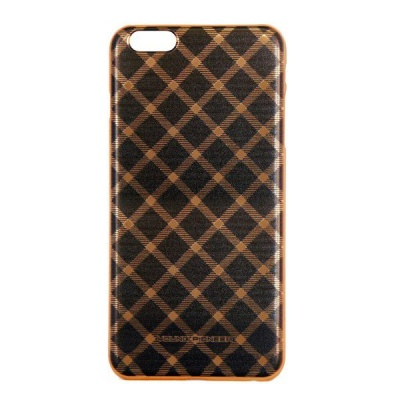 Photo of Young Pioneer YP Electro Plate Cover for iPhone 6 - Black & Gold