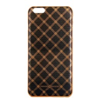 yp electro plate cover for iphone 6 black and gold