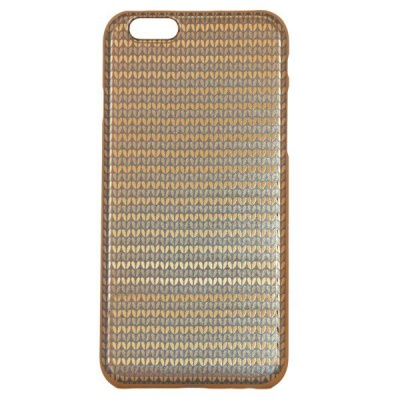 Photo of Young Pioneer YP Electro Plate Cover for iPhone 6 Plus - Black & Gold