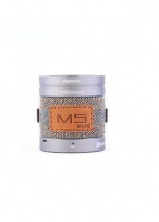 remax m5 bluetooth mini speaker with aux silver