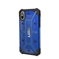 uag plasma case for apple iphone xsx cobalt blue