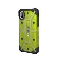 uag plasma case for apple iphone xsx citron yellow
