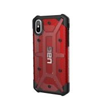 uag plasma case for apple iphone xsx magma red
