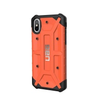 uag pathfinder case for apple iphone xsx rust
