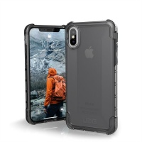 uag plyo case for apple iphone xsx ash grey