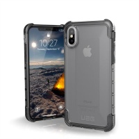 uag plyo case for apple iphone xsx ice clear