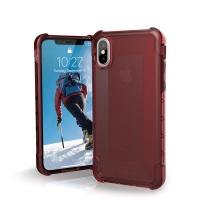 uag plyo case for apple iphone xsx crimson red