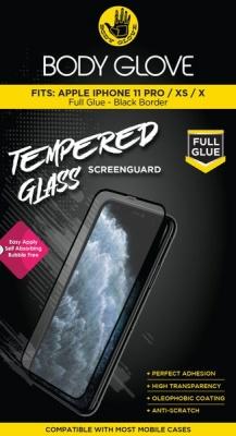Photo of Body Glove Tempered Glass Screenguard Apple iPhone 11 Pro/XS/X-Black