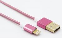 unitek 12m usb 20 lightning cable pink