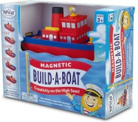 popular playthings magnetic build a boat boat