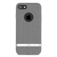 moshi vesta for iphone 8 herringbone grey