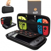 orzly protective carry case pouch black nintendo switch case