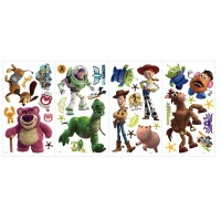RoomMates Decor Toy Story 3 Glow in the Dark Peel Stick Wall Decals