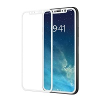 Tempered Curved Edge Glass Screen Protector for iPhone X Black
