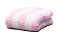 fox fable 6 layer dream blanket pink blanket