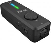 irig pro io audio interface midi controller