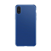 baseus small hole case for iphone x blue