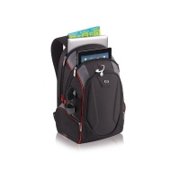 solo 173 laptop backpack black and red