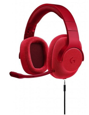 Photo of Logitech : G433 7.1 Surround Gaming Headset - Fire Red