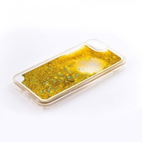 tellur hard case cover for iphone 78 glitter yellow