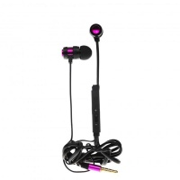 tellur in trendy headset purple cell phone headset