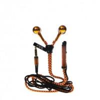 tellur in fantasy zip headset orange cell phone headset