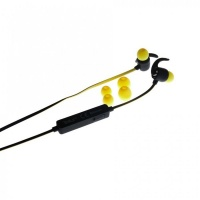 tellur sport bluetooth headset speed yellow cell phone headset