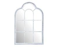 esschert metal mirror roman shaped mirror