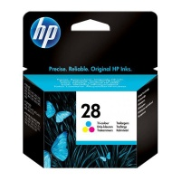 hp 28 tri colour ink cartridge office machine