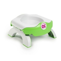 ok baby travel potty and toilet reducer green nappy changing