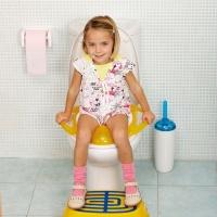 ok baby pinguo soft training toilet seat orange nappy changing