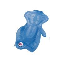 ok baby monkey ergonomic bath seat blue