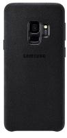 Samsung Alcantara Cover For Galaxy S9 Black