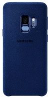 Samsung Alcantara Cover For Galaxy S9 Blue
