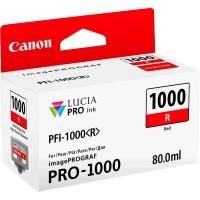 canon pfi 1000 red ink cartridge