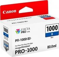 canon pfi 1000 blue ink cartridge