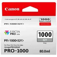 canon pfi 1000 grey ink cartridge
