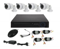 4 camera ahd cctv kit 720p 1mp