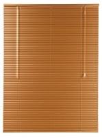 dcor depot 25mm aluminium venetian blinds copper 600mm x curtain