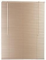 dcor depot 25mm aluminium venetian blinds fawn 2200mm x curtain
