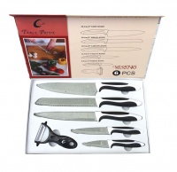 Table Pride Stainless Steel 6 Piece Knife Set