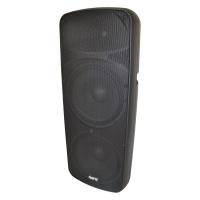hybrid dual 15 plastic moulded full range passive speaker
