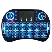 Mini 24GHz Backlit Wireless Keyboard Touchpad for PC TV Box Android