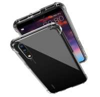 Protective Shockproof Gel Case for Huawei P20 Pro Clear