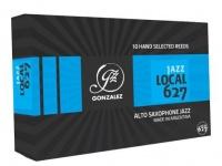 gonzalez alto saxophone reeds 3 jazz cut 10 per box saxophone