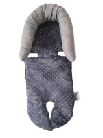 pramskinz carseat insert cloudy with a chance of car seat
