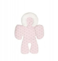 iconix baby seat support cushion pink car seat
