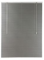 decor depot 25mm aluminium venetian blinds silver 2400mm x curtain